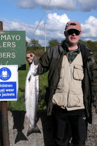 East Mayo Anglers Association Salmon caught by Ben Barnes