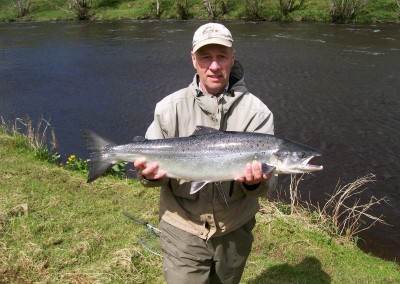 Paul McGrath, 12.5lb Salmon, Ballintemple with spinner, 01 June 2015